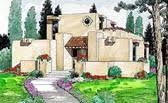 santa fe house plans at familyhomeplans com