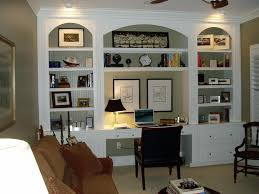 Built In Desks For Home Office Modern Custom Home Office Design - Built in home office designs