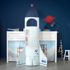 discovery astronaut children u0027s mid sleeper bed by cuckooland
