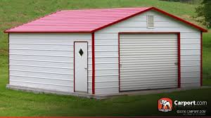 metal garage 12 u0027 x 21 u0027 boxed eave roof shop metal buildings online