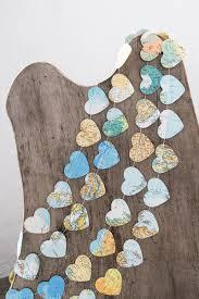 paper garland bunting wedding garland heart garland atlas map