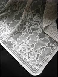 oak and acorn lace curtain by c f a voysey from cooper lace