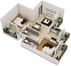 two rooms home design news 98 best 3d floor plans images on pinterest floor plans homes