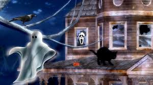 pet halloween background other lucy shop cat painting canine architecture dog scenery