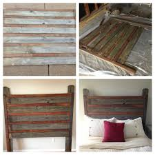 Queen Headboard Diy by Queen Headboard I Made From Old Tongue And Groove Oak Flooring And