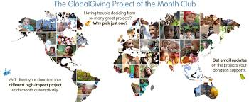 of the month project of the month club globalgiving