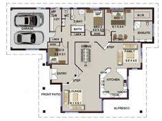 4 Bedroom Single Story Floor Plans 3 Bed Floor Plan With Carport 3 Bedroom House Plans Pinterest