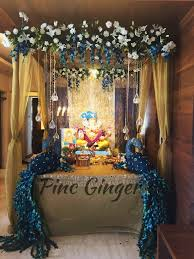 pin by sneha patil daxini on ganpati decorations pinterest