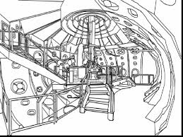 brilliant doctor tardis coloring pages doctor coloring