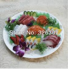 simulation 3d cuisine white large sashayed model 3d food menus simulation platter of