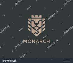 lion face king vector logotype royal stock vector 511161103