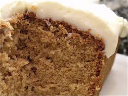 buttermilk spice cake with cream cheese frosting the hungry mouse