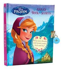 disney frozen anna u0027s book secrets scholastic kids u0027 club