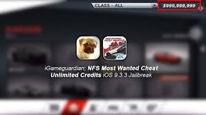 igg need for speed most wanted cheat unlimited money ios 9 3 3