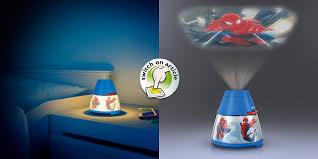 philips marvel spider man children u0027s night light and projector 1