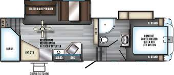 Forest River 5th Wheel Floor Plans Rvs Cheyenne Camping Center