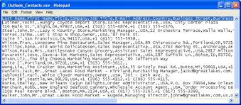 csv format outlook import importing data into microsoft outlook 2 csv files