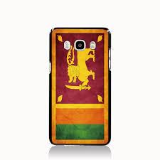 Sri Lanka Flag Lion 09858 Retro Sri Lanka National Flag Cell Phone Case Cover For