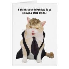 funny trump birthday greeting cards zazzle