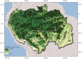 Map Of The Amazon River Amazonia Ecological Integrity Threatened Philosophical