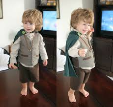 Family Halloween Costumes With A Baby Awesome Hobbit Costume Rebrn Com