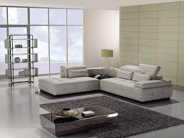 Sectional Sofa White Different Modern Leather Sectional Sofa And Recliner U2014 Home Design