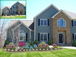 House With Front Porch Landscaping Ideas For Front Of House With Porch