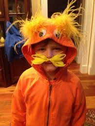 Lorax Halloween Costume Lorax Tute Making Fur Costume Fun