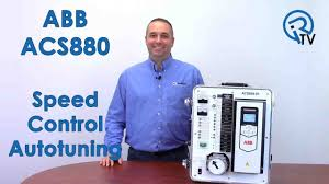 abb acs880 speed control autotuning youtube