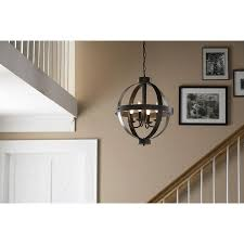 allen and roth lighting this allen roth rustic pendant light is the perfect inspiration