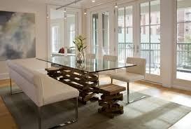 tavoli da sala da pranzo moderni tavoli da pranzo vetro moderno alla moda con esemplare moderna