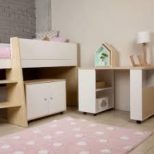 girls castle loft bed bunk beds loft beds and tri bunks for kids bedrooms