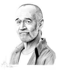 george carlin drawing by murphy elliott