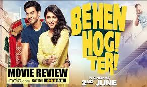 behen hogi teri movie review rajkummar rao delivers yet another