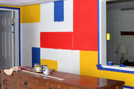 mondrian wall mural tutorial dream a little bigger