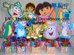 Cookie Monster Baby Shower Decorations Dora Birthday Table Centerpieces Image Inspiration Of Cake And
