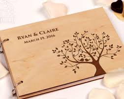 guest books wedding guestbook rustic wedding guest book custom guest