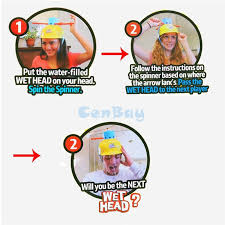 Challenge Water Filled Family Hat Water Challenge Toys