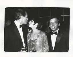 Minnelli Halston Liza Minnelli And Steve Rubell Andy Warhol 1928 1987