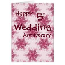 5th wedding anniversary cards invitations zazzle co uk
