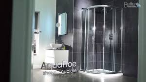 coram shower door spares aquafloe quadrant shower enclosure youtube