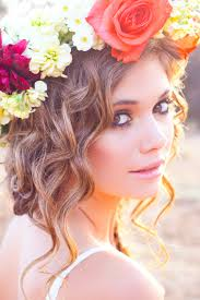 flower headpiece how to make a floral halo diy flower crown tutorial