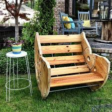 Cable Reel Chair Home Dzine Home Diy Cable Spool Chairs For Garden Or Patio