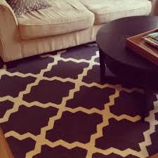 orange moroccan trellis rug u2013 outdoor decorations