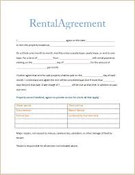 printable rental agreement template free rental forms to print