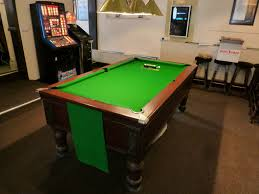 west end pool table local club return to gcl billiards for pool table re cover twice a