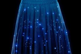 Sites Like Thinkgeek by Twinkling Star Chart Skirt Lets You Wear The Night Sky Mental Floss