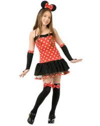 a cute costume for teens is minnie mouse get this at party city