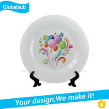 personalized ceramic plates china personalized printing ceramic plate of sublimation blanks