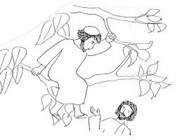 100 ideas zacchaeus coloring pages printable on halloweencolor us